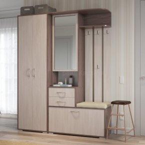 Прихожая Домино шкаф с вешалкой с шкафом