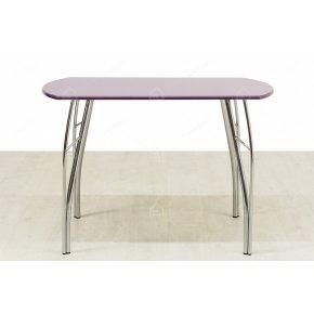 Стол обеденный МДФ фиолетовый