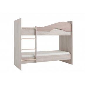 Кровать 2-х ярусная МАЯ без ящиков, на латофлексах
