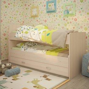 Кровать выкатная РАДУГА (Матрешка) с ящиком