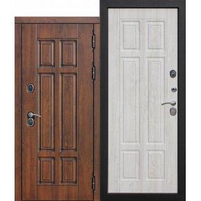 Дверь входная 13 см терморазрыв с внешней панелью Изотерма