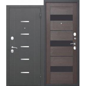 Входная дверь 7,5 см Гарда МУАР Царга Темный кипарис