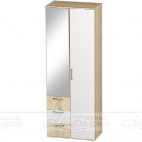"Шкаф двухстворчатый белый глянец ""Белладжио"""