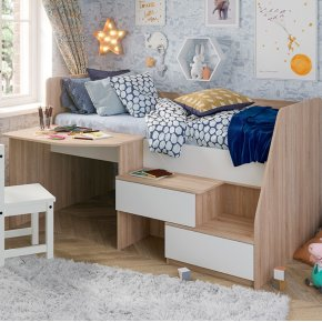 Детская кровать с ящиками Алиса