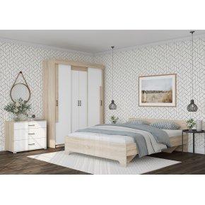 Спальный гарнитур Victor с основанием Виктор сонома